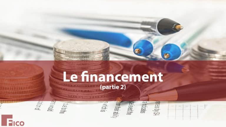 le financement  Expert comptable Paris